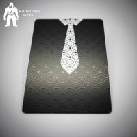 Sheet  Elite Vip Matte Black Metal Business Cards , Personalised Black White Gold Business Cards Manufactures