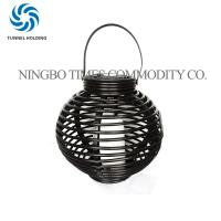 Quality Solar Powered Decorative Lanterns With Flickering , Outdoor Candle Lanterns For Patio for sale