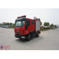 Imported Chassis Foam Fire Truck Gross Weight 7800kg With 115L Plastic Fuel Tank Manufactures