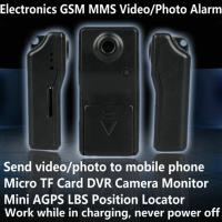 Electronic GSM MMS Alarm Micro TF DVR Camera Locator W/ Send Video Photo to Mobile Phone Manufactures