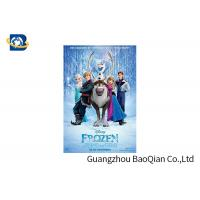 China PET / PVC / PP 3D Lenticular Poster Printing , Cartoon Lenticular Movie Poster Advertisement on sale