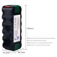 Quality 14.4V 3.5Ah Ni-MH Vacuum Battery for iRobot Roomba 500Series 510 530 531 532 533 535 536 540 545 550 552 560 562 570 580 for sale