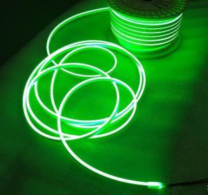 China LED Light SMD 2835 120led/M LED Neon Strip Light 2.5CM Cuttable LED Light DC12V green neon-flex on sale