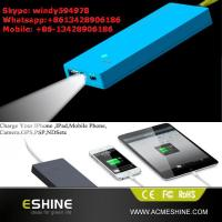 China Good Promotional Gift Solar Charger with Led Light on sale