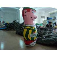 Eco-friendly Boy Custom Inflatable Products , Customized 50cm Inflatable Tumbler Manufactures