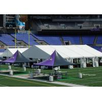 Double Decker Sporting Event Tents Easy Set Up For International Competitions Manufactures