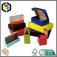 Quality Solid Color Printed Corrugated Mailing Box; Colorful Cardboard Shipping Box for sale