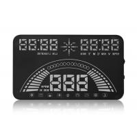 Universal Vehicle Heads Up Dash Display , 5.8 Inch Aftermarket Hud Display PC + ABS Material Manufactures