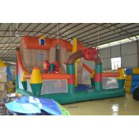 Kids Fun Inflatable Obstacle Bouncy Castle For Amusement Park Manufactures