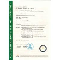 Hangzhou AiTe Cable Co.,Ltd. Certifications