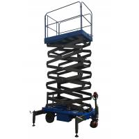 Quality Platform Height 11m Mobile Scissor Lift With Electrical Driving System Loading for sale