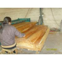 White / Brown Birch Rotary Cut Wood Veneer , Quilted Maple Veneer Manufactures