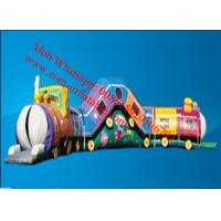 Inflatable Train Obstacle Course Inflatable trainCourse Manufactures