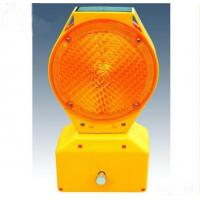 High Visible Wireless Solar Led Traffic Warning Strobe Light For Road Construction Manufactures