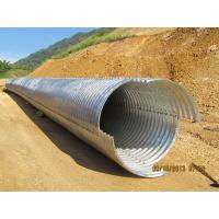 Assembly Galvanized Corrugated Culvert Pipe Manufactures