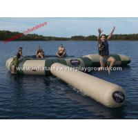 Big Sea / Lake Aqua Jump Water Trampoline floating water park With CE , Waterproof Manufactures