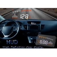 Universal Cars X5 Obd2 Heads Up Display Vehicle Mounted Alarm Security System HD Color LED Manufactures