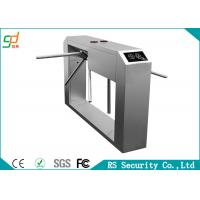 304 Stainless Access Control System Automatic Turnstile Waist Height Turnstile Manufactures