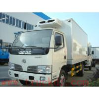 China good quality refrigerated truck with meat hooks for sale, factory sale refrigerator truck for frozen meats Manufactures