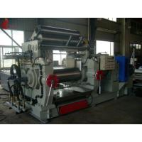 Two Roll Rubber Open Mill With Totally Enclosed Cage Rotor Φ 400 x 1000mm Manufactures