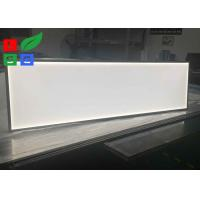 Quality Lighting Source 2835 SMD LED Panel Light , Low Power Consumption LED Glass Edge Lighting for sale
