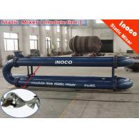 BOCIN CE SK Stainless Steel Static Mixer For Liquid Mixing Static Inline Mixer Manufactures