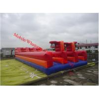inflatable bungee trampoline inflatable bungee jump Bungee Run Basketball  Tag n Dunk Manufactures
