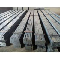 Hot Rolled Treatment Crane Flat Bar Steel With Q345B Material Easy Crane Rail Installation Manufactures