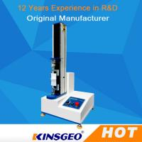 Computer Display Material Tensile Universal Testing Machine 2KN For Fabric / Leather Materials Manufactures