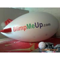 0.18mm PVC Tarpaulin Inflatable Advertising Balloons Tethered Blimp Airship Manufactures