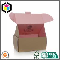 Quality Color Bespoke Cardboard Mailing Box; High Quality Corrugated Shipping Box for sale