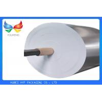 69gsm Wet Strength Silver Vacuum Metallized Paper For Beer Bottle Labels Manufactures