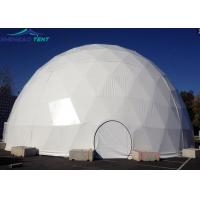 China 20m Big Geodesic Dome Tent Half Sphere Tent For Outdoor Wedding Events on sale