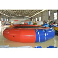 6m PVC Commerical Inflatable Water Trampoline for Adult Playing Manufactures
