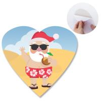 Heidelberg Offset Printing 3D Lenticular Sticker With Heart Shape Die Cut For Promotion Manufactures