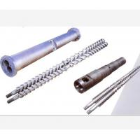 Corrosion Resistance Parallel Twin Screw Barrel And Double Hole Cylinder PVC Usage Manufactures