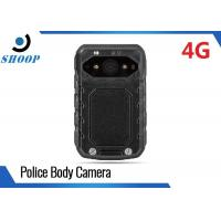 LTE 3G 4G Portable Body Camera Accessories , WIFI Police Should Wear Body Cameras Manufactures