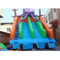Amusing Commercial Inflatable Slide , Inflatable Pool Slide For Water Park Manufactures