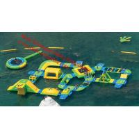 inflatable adult water obstacle course inflatable water obstacle course for sale Manufactures