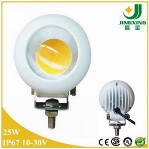 White color high power 25w led working light for ATV, UTV, SUV, 4X4 Manufactures