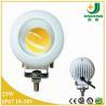 25w 12V led work light , cree cob LED Work Light, spot beam led work light for trucks Manufactures
