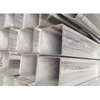 ASTM AISI Rectangular Stainless Steel Tube with 1000mm - 18000mm Length Manufactures