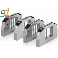 CE Approved Swing Barrier Gate Identification Card Turnstile System Speed Lane Manufactures