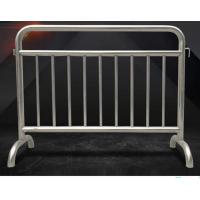 Fixed Leg Interlocking Metal Fence Accessories Stainless Steel 304 316 Barricade For Concert Manufactures