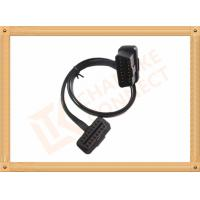 Custom 1-15M Automotive Flat OBD Obd Extension Cable 16 Pin Odb2 Extension Cable Manufactures