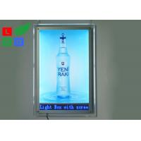 Indoor Advertising LED Crystal Light Box A1 A2 Graphic Size With LED Scrolling Text Sign Manufactures