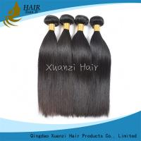 Peruvian Straight Hair Bundles , Real Human Hair Extensions No Tangling Manufactures