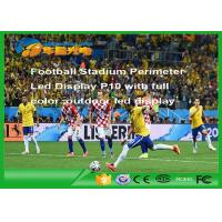 Rgb Football Stadium Led Display Outdoor , P10 Led Advertising Display Manufactures