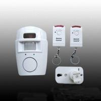 PIR Motion Detector Alarm, Powered by Wireless Battery, Built-in Siren Manufactures