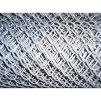 Hot - Dipped Galvanized Iron Wire Chain Link Fences 2'' / 11.5GA Manufactures